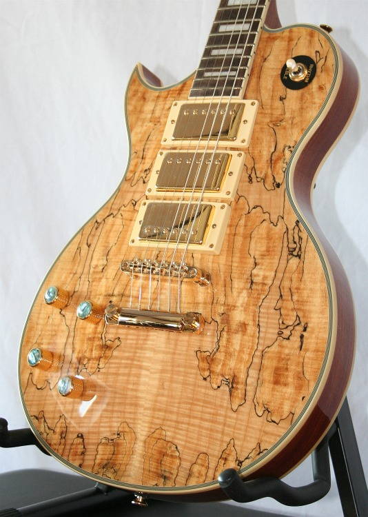Spalted Maple Les Paul Les Paul Typ Spalted Maple