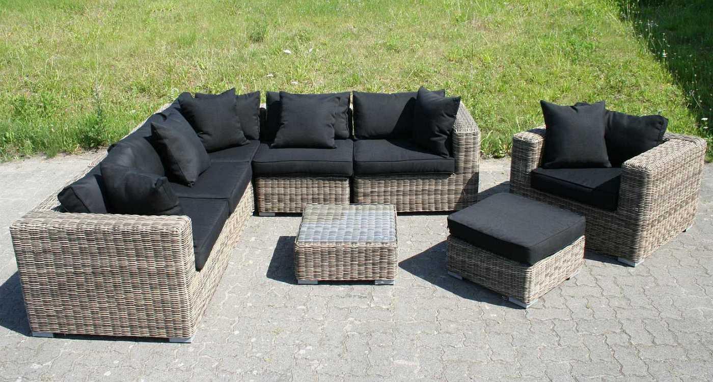 Gartenmobel Holz Ikea :  Gartenmöbel Poly Rattan Lounge Sitzgruppe Gartengarnitur Torino