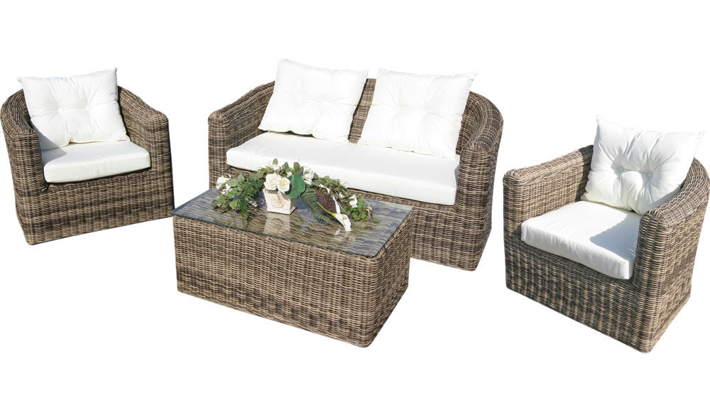 rund polyrattan gartenm bel poly rattan lounge sitzgruppe gartengarnitur bergen1 eur 549 00. Black Bedroom Furniture Sets. Home Design Ideas