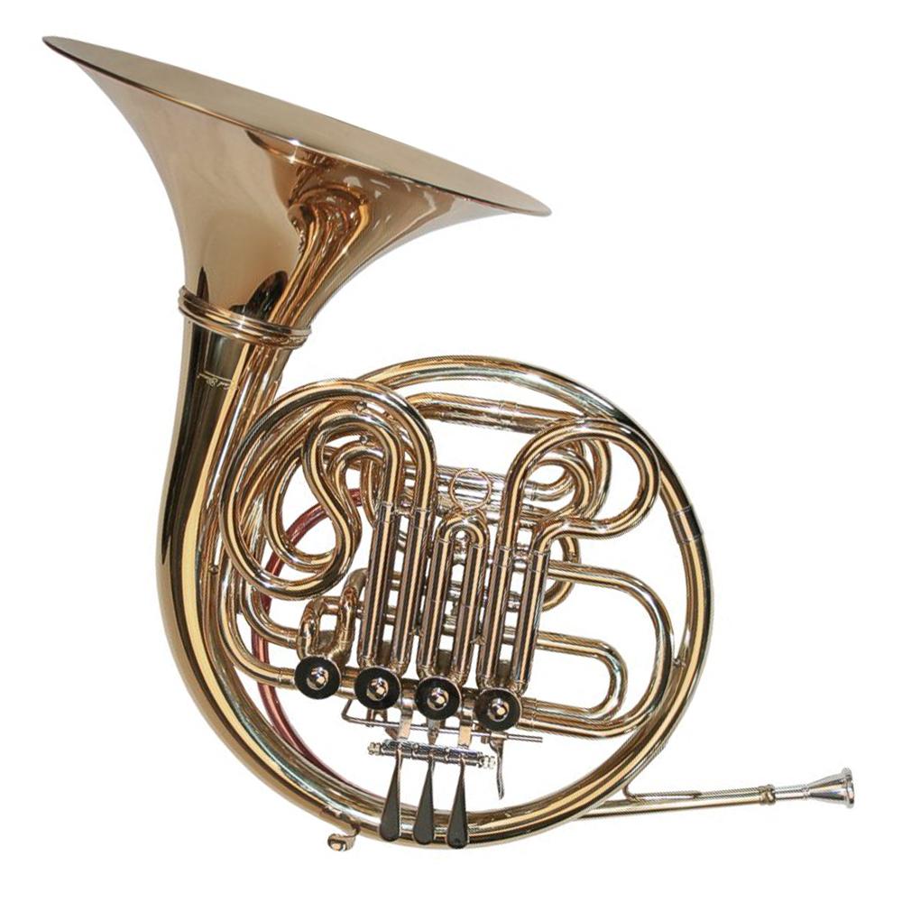 Karl Glaser Doppelwaldhorn French Horn Waldhorn F//Bb mit Koffer und Mundstück