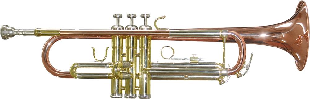 K Mundstück Glaser Heavy Trompete Monel Ventile Koffer Messing geschliffen