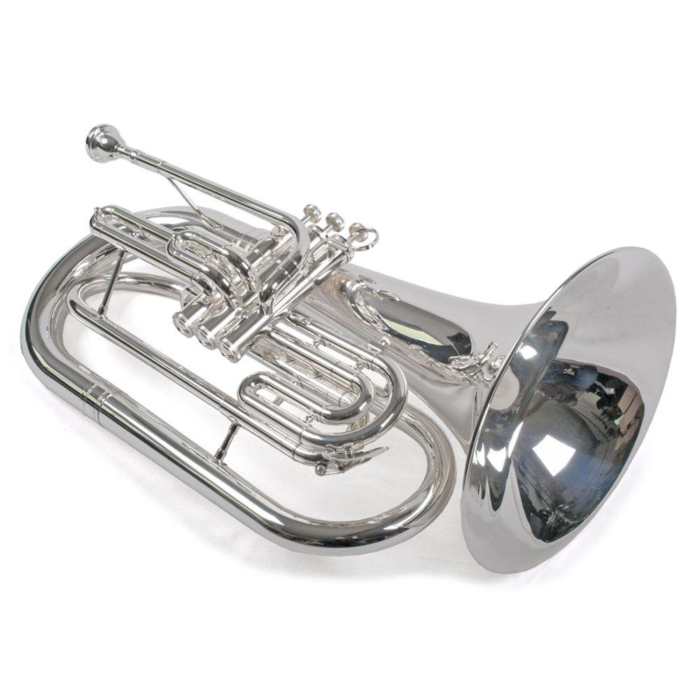 Edelstahl Ventile Bassflügelhorn Marsch Bariton Baßtrompete