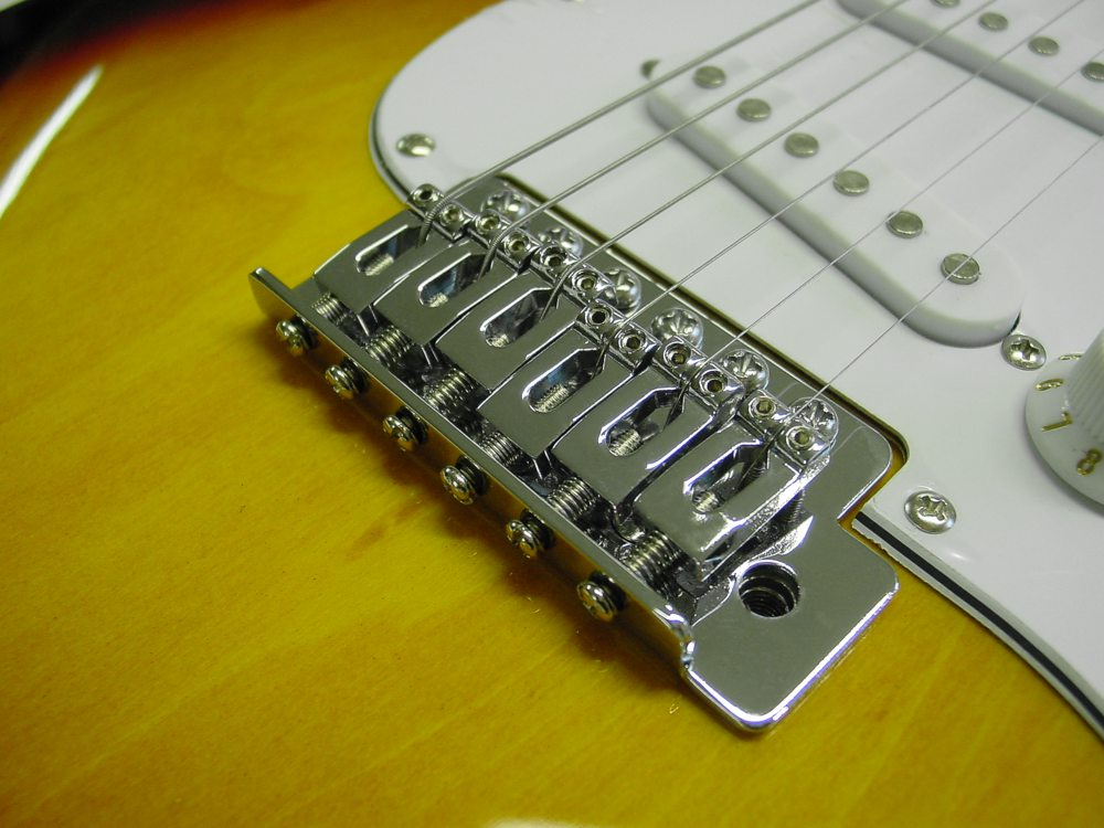E-Gitarre Set mit 65W Verstärker + Stimmgerät, Gurt, Sunburst ...
